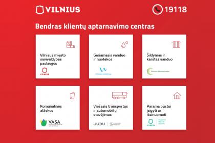 Vilniaus miesto klientų aptarnavimo centras