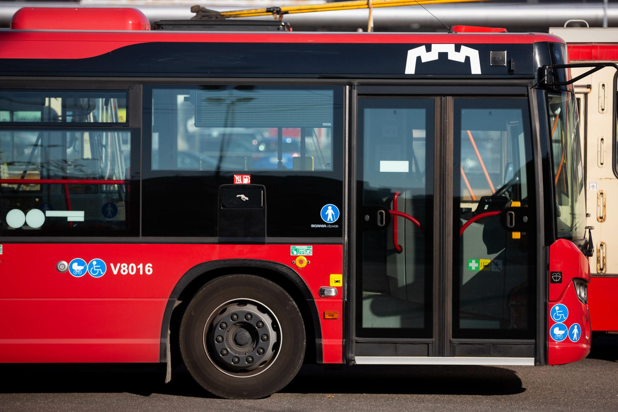 Spalio 23 d. draudžiamas eismas Polocko g., keisis 11 maršruto autobusų  trasa